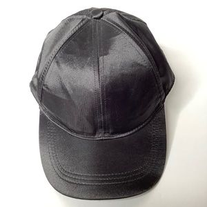H&M Divided Black Satin Cap